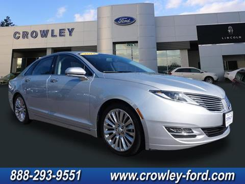 2014 Lincoln MKZ for sale in Plainville, CT