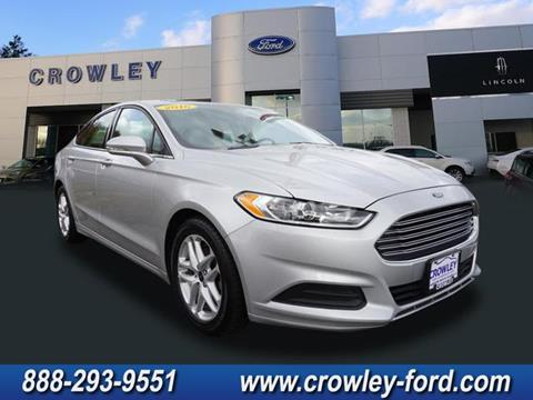 2016 Ford Fusion for sale in Plainville CT