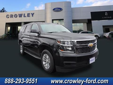2015 Chevrolet Tahoe for sale in Plainville, CT