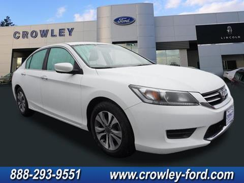 2015 Honda Accord for sale in Plainville CT