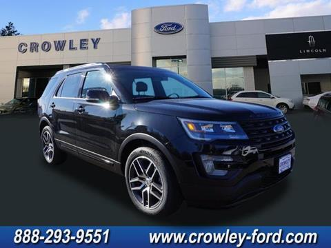 2017 Ford Explorer for sale in Plainville, CT