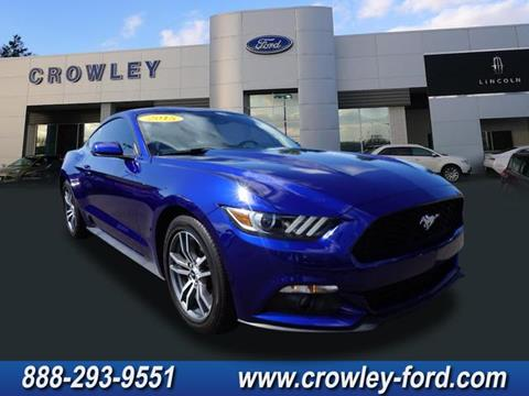 2015 Ford Mustang for sale in Plainville, CT