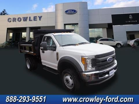 2017 Ford F-550 for sale in Plainville, CT