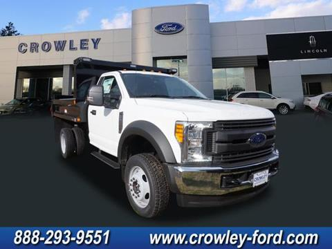 2017 Ford F-550 for sale in Plainville CT