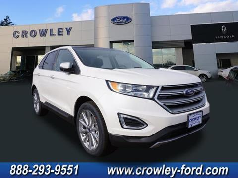 2017 Ford Edge for sale in Plainville, CT