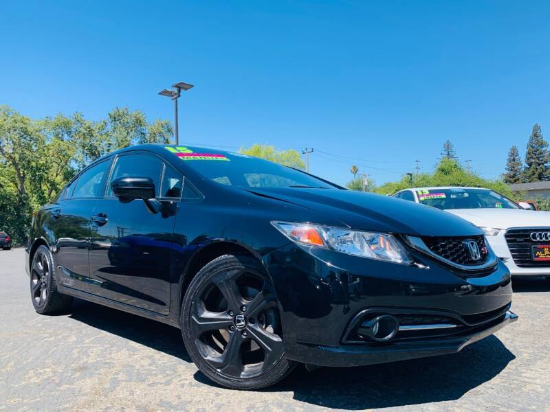 2015 Honda Civic for sale at Alpha AutoSports in Sacramento CA