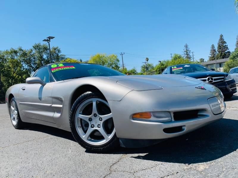 2002 Chevrolet Corvette for sale at Alpha AutoSports in Sacramento CA