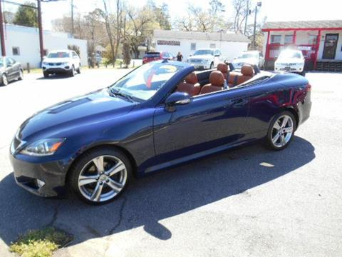 2012 Lexus IS 250C for sale in Asheville, NC