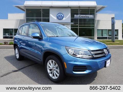 2017 Volkswagen Tiguan for sale in Plainville, CT