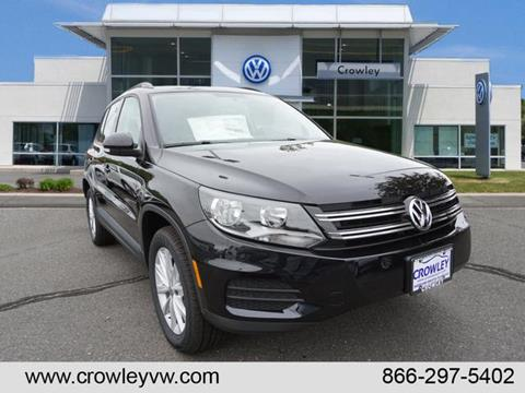2017 Volkswagen Tiguan Limited for sale in Plainville, CT