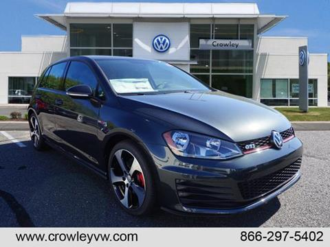 2017 Volkswagen Golf GTI for sale in Plainville, CT
