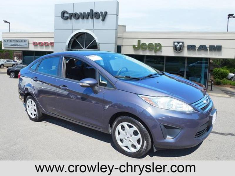 2013 Ford Fiesta For Sale At CROWLEY KIA In Bristol CT