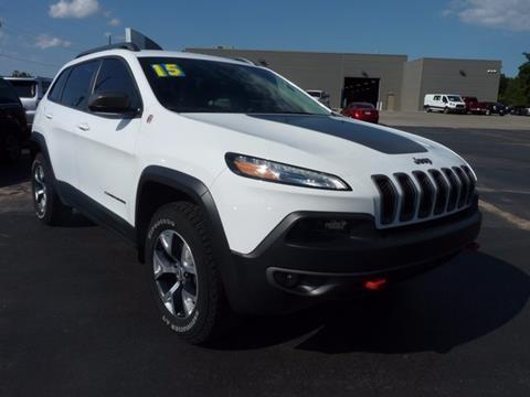 2015 Jeep Cherokee for sale in Seminole OK