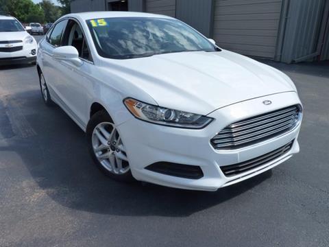 2015 Ford Fusion for sale in Seminole, OK