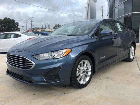 2019 Ford Fusion Hybrid for sale in Seminole, OK