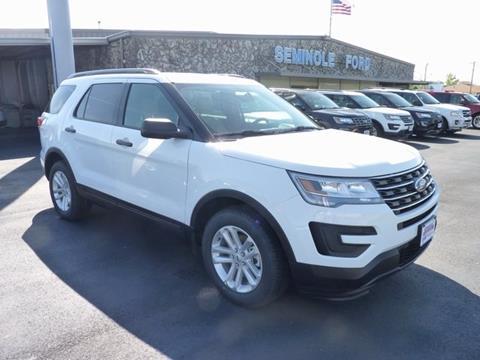 2017 Ford Explorer for sale in Seminole OK