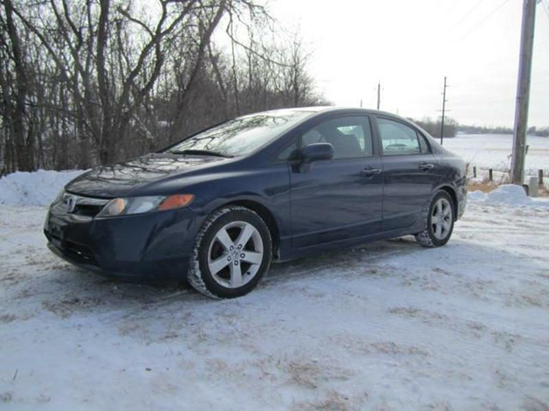 2006 Honda Civic For Sale At The Car Lot In New Prague MN