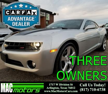 2010 Chevrolet Camaro for sale in Arlington, TX