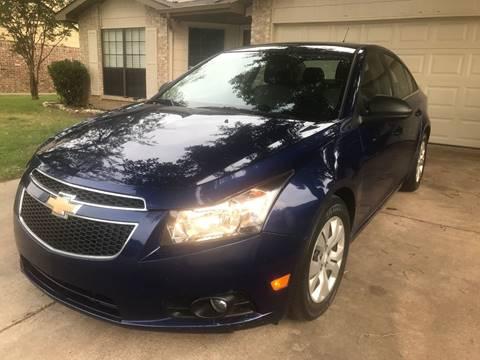 2012 Chevrolet Cruze for sale in Arlington, TX