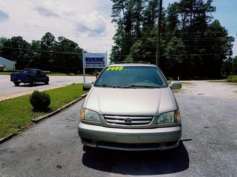 2002 Toyota Sienna for sale at Lyman Autogroup LLC. in Lyman SC