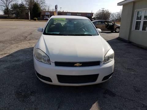 2007 Chevrolet Impala for sale at Lyman Autogroup LLC. in Lyman SC