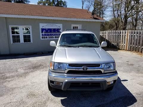 2001 Toyota 4Runner for sale at Lyman Autogroup LLC. in Lyman SC