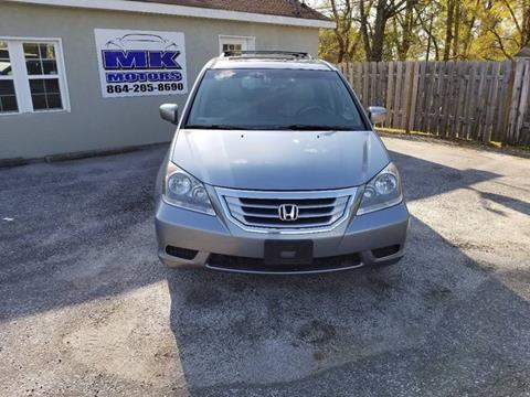 2008 Honda Odyssey for sale at Lyman Autogroup LLC. in Lyman SC