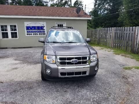 2011 Ford Escape for sale at Lyman Autogroup LLC. in Lyman SC