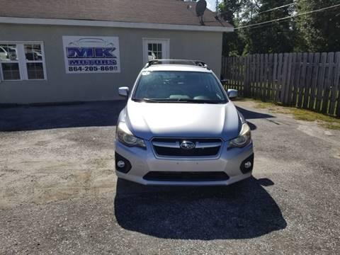 2012 Subaru Impreza for sale at Lyman Autogroup LLC. in Lyman SC