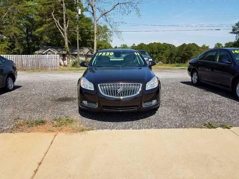 2011 Buick Regal for sale at Lyman Autogroup LLC. in Lyman SC