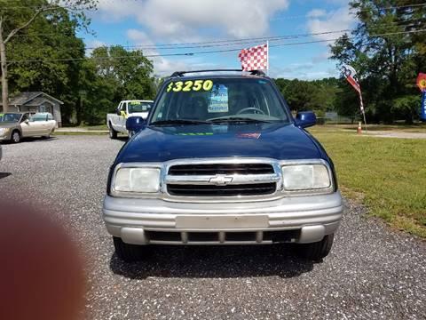 2002 Chevrolet Tracker for sale in Spartanburg, SC
