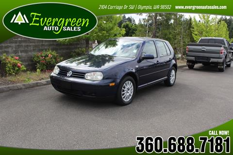 2004 Volkswagen Golf for sale in Olympia, WA