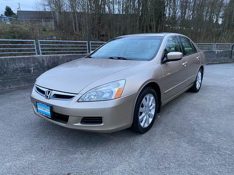 2006 Honda Accord for sale at Zipstar Auto Sales in Lynnwood WA