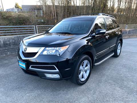 2011 Acura MDX SH-AWD w/Tech w/RES for sale at Zipstar Auto Sales in Lynnwood WA
