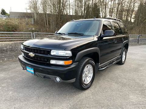 2004 Chevrolet Tahoe Z71 for sale at Zipstar Auto Sales in Lynnwood WA