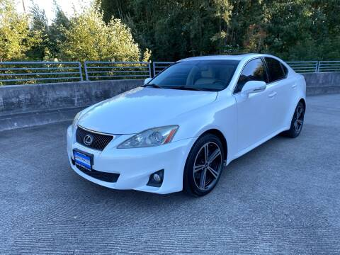 2011 Lexus IS 250 for sale at Zipstar Auto Sales in Lynnwood WA