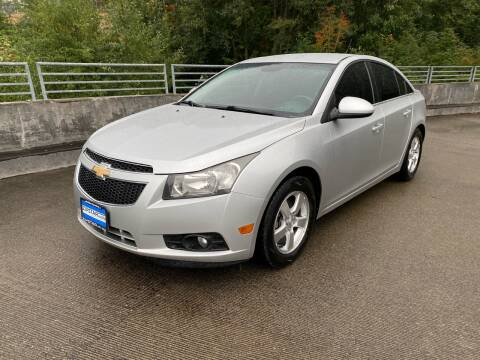 2012 Chevrolet Cruze for sale at Zipstar Auto Sales in Lynnwood WA