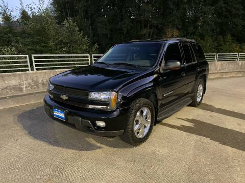2002 Chevrolet TrailBlazer for sale at Zipstar Auto Sales in Lynnwood WA