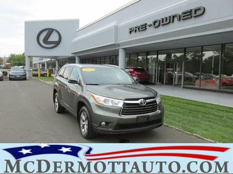 2014 Toyota Highlander for sale in East Haven, CT