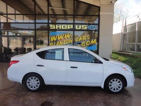 2012 Nissan Versa for sale at Blanton Cars in Shelby NC