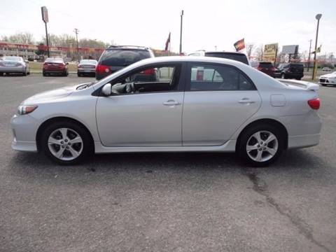 2012 Toyota Corolla for sale at Blanton Cars in Shelby NC