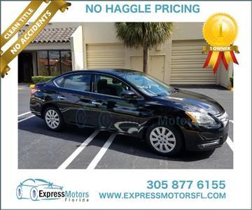2014 Nissan Sentra for sale in Hialeah, FL