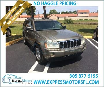 2006 Jeep Grand Cherokee for sale in Hialeah, FL