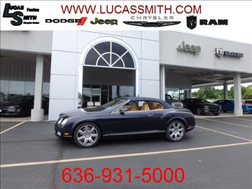 2008 Bentley Continental GTC for sale in Festus, MO