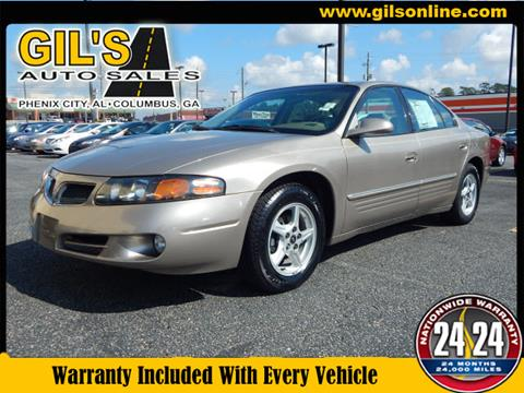 2002 Pontiac Bonneville for sale in Columbus, GA