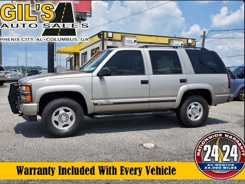 2000 Chevrolet Tahoe Limited/Z71 for sale in Columbus, GA
