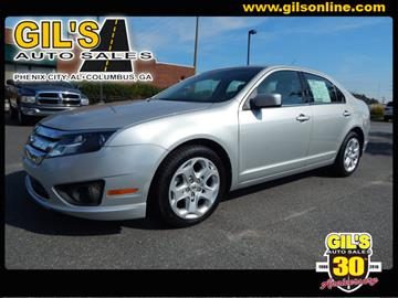 2010 Ford Fusion for sale in Columbus, GA