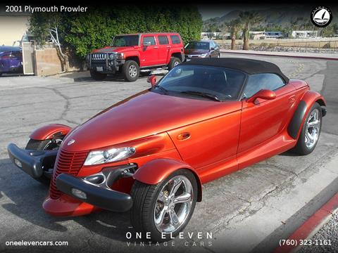 2001 Plymouth Prowler for sale in Palm Springs, CA