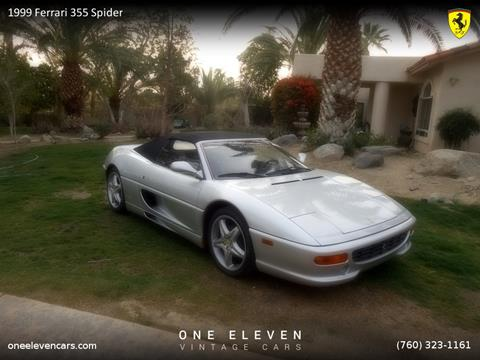 1999 Ferrari 355 for sale in Palm Springs, CA