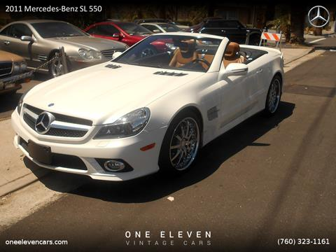 2011 Mercedes-Benz SL-Class for sale in Palm Springs, CA